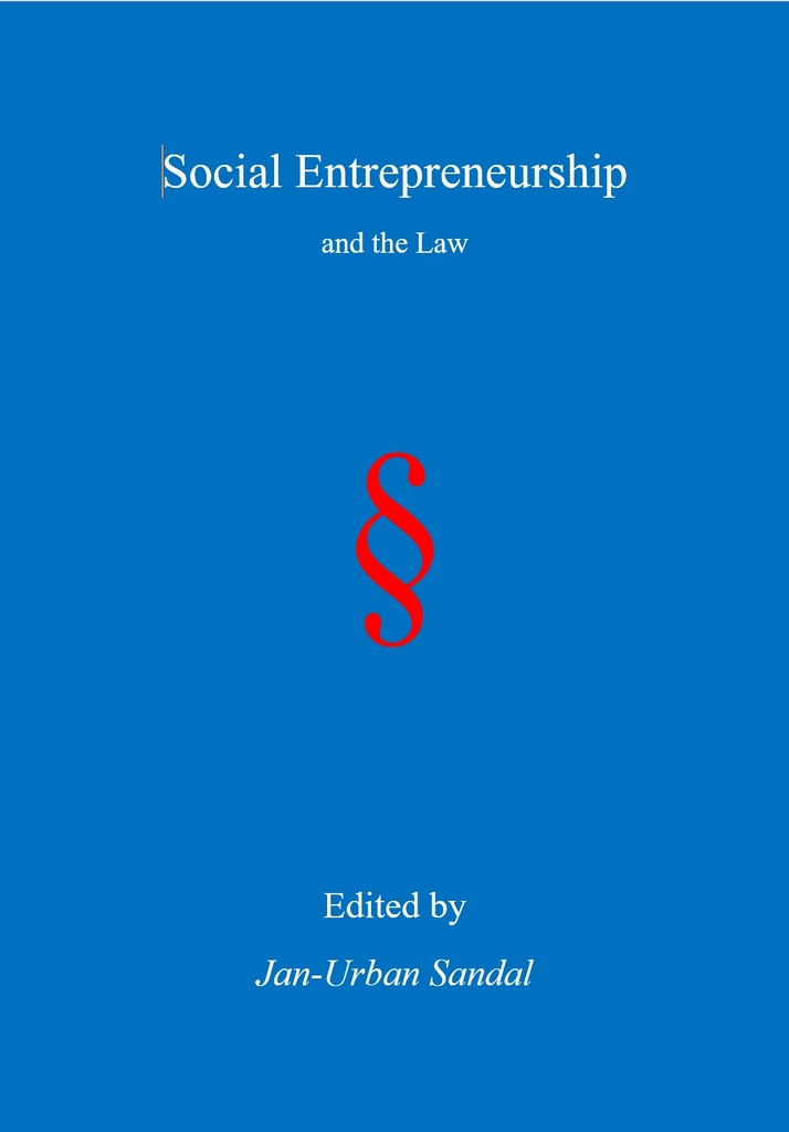 Cover of Social Entrepreneurship and the Law