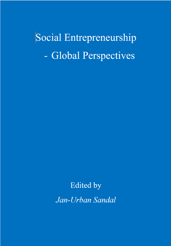 Cover of Social Entrepreneurship - Global Perspectives